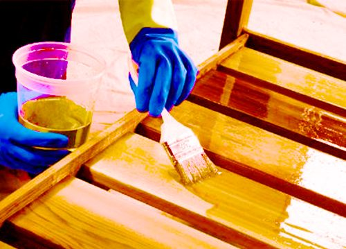 Составы для защиты древесины