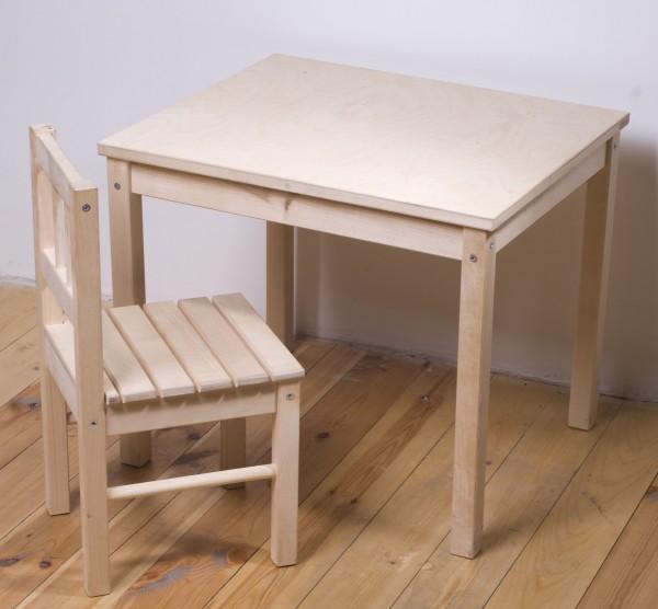 Детский стол из дерева своими руками