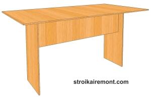 Отличное решение изготовления мебели, это стол из фанеры своими руками.  Если у вас после строительства или ремонта...