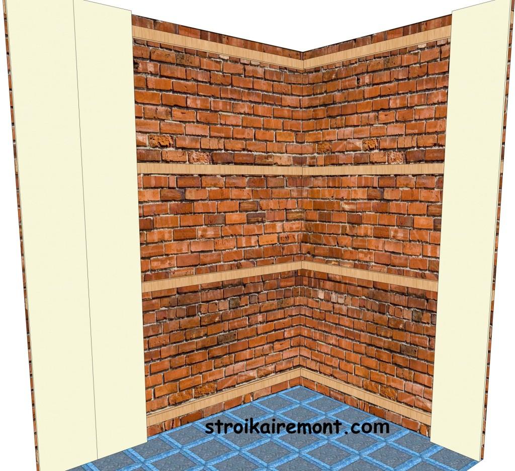 Обшивка туалета пвх панелями