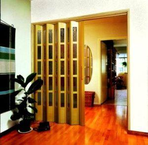 межкомнатные двери складные гармошки