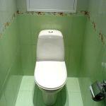 Отделка туалета
