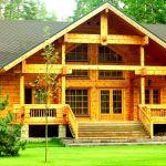 Дом из клееного бруса — проблемы и их решения