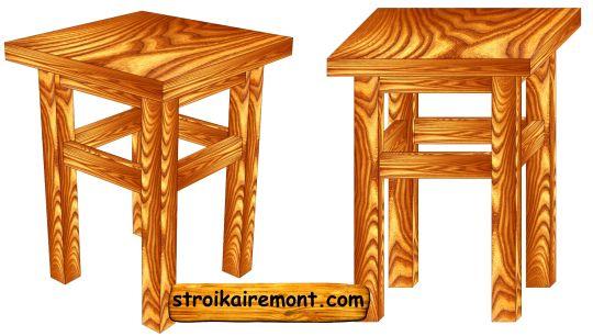 Как сделать деревянный стул