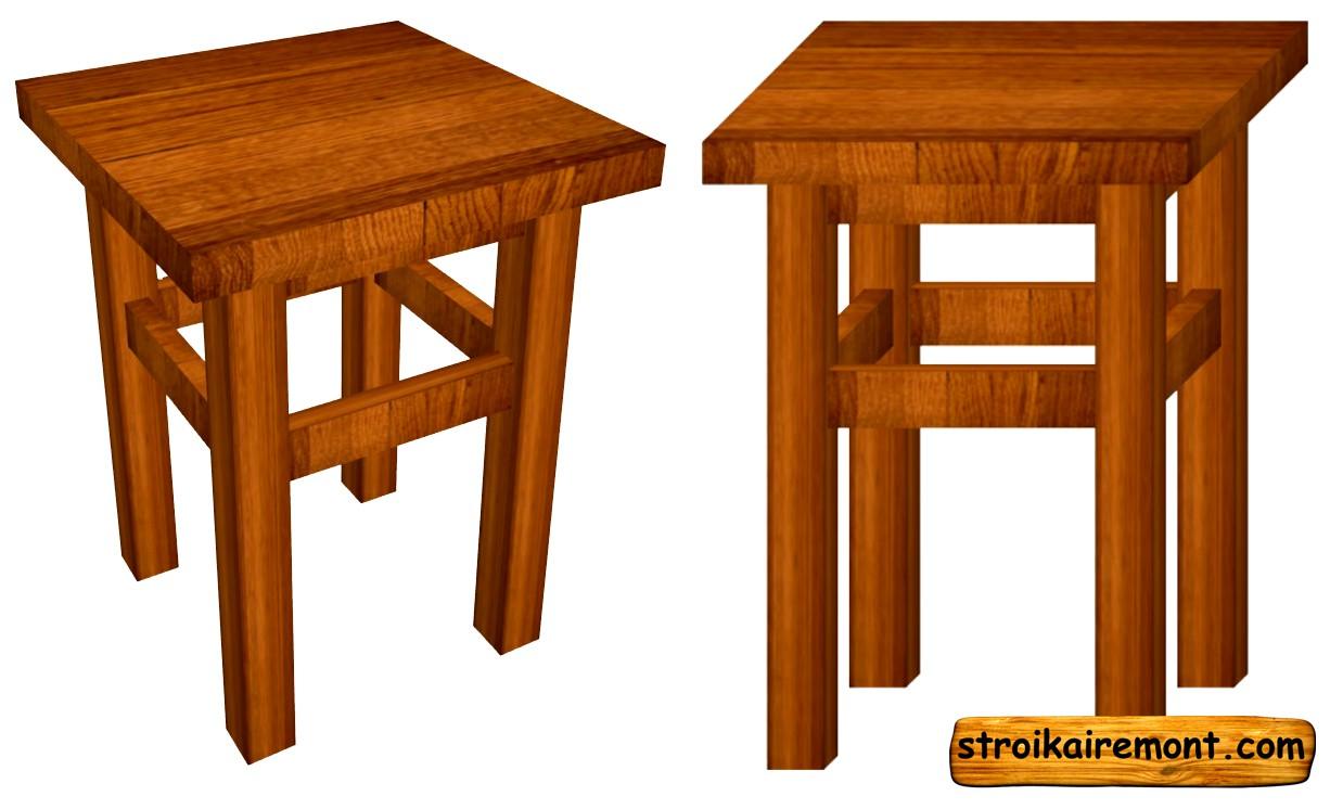 Как сделать своими руками деревянный стул