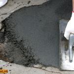 Выравнивание пола цементным раствором