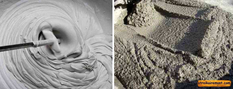 Цементное молочко как приготовить из сухой смеси