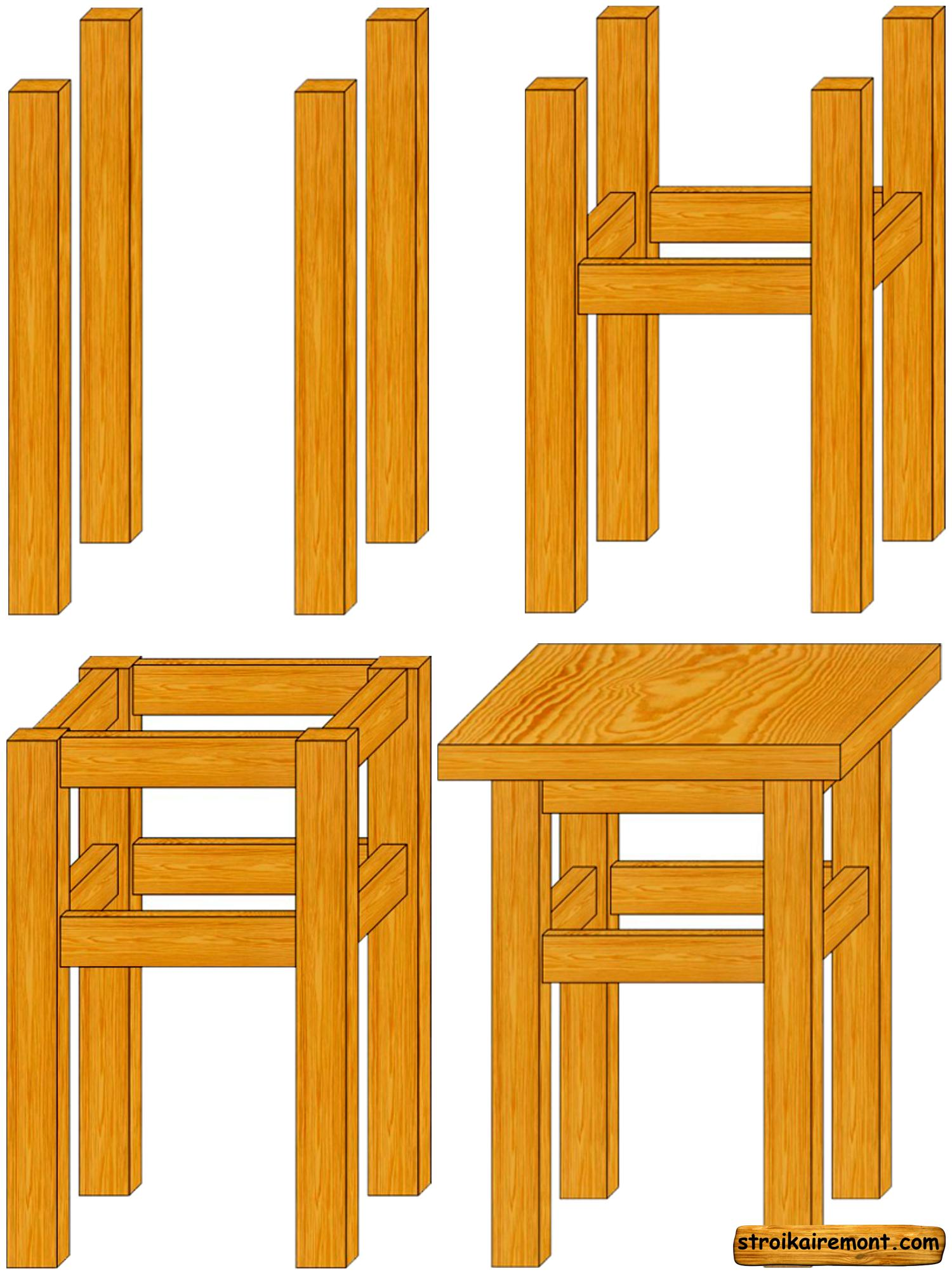 Мебель из дерева для бани схемы и описание