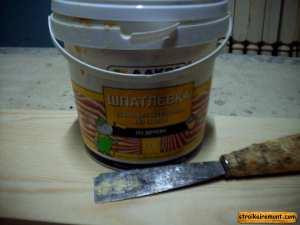 Как шпаклевать деревянную поверхность шпаклевка