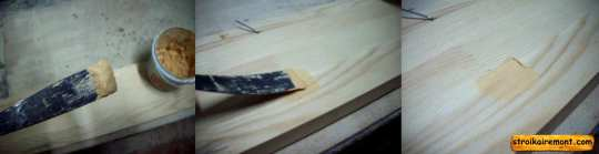 Как шпаклевать деревянную поверхность своими руками