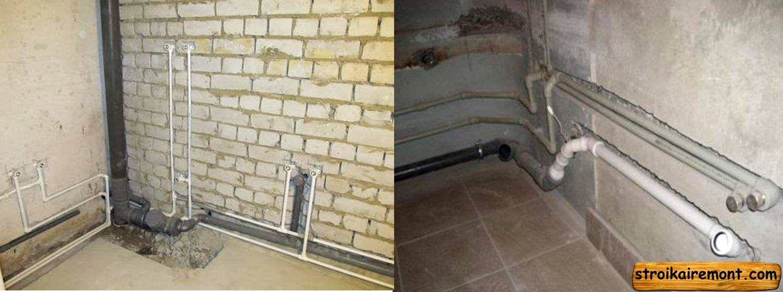 Этапы ремонта в ванной