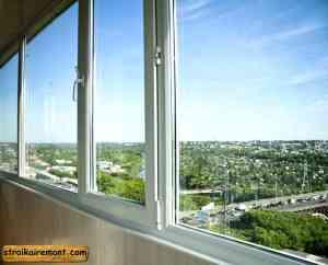 Отделка холодного балкона замена окон