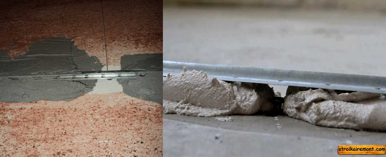 Как выполнить бетонную стяжку пола