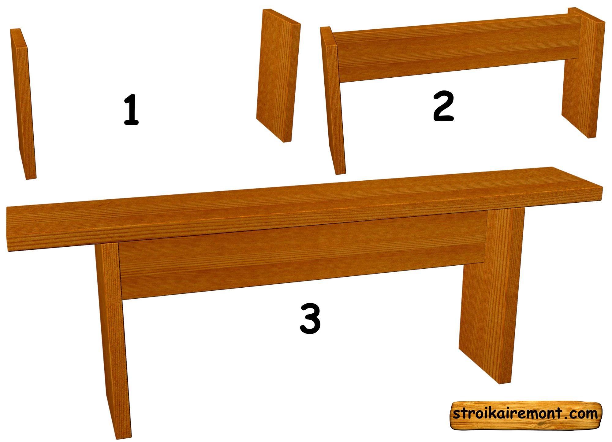 Скамейки своими руками: 10 практичных вариантов