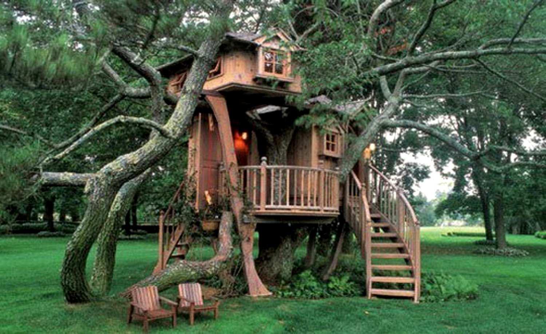 Домик на дереве своими руками видео фото