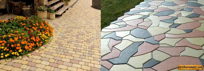 Как подобрать тротуарную плитку