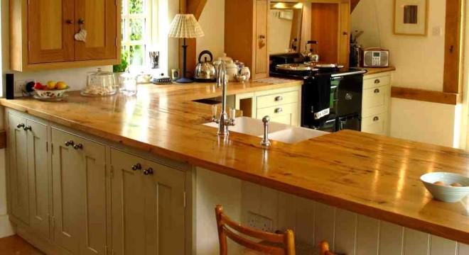 Как выбрать деревянную столешницу для кухни