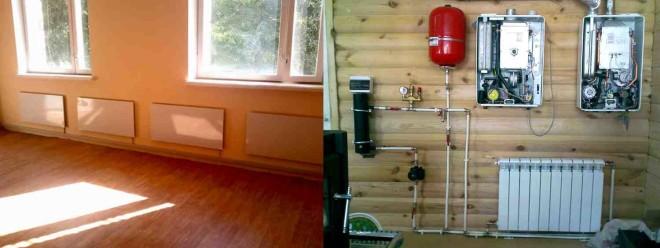 Варианты отопления частного дома электричество