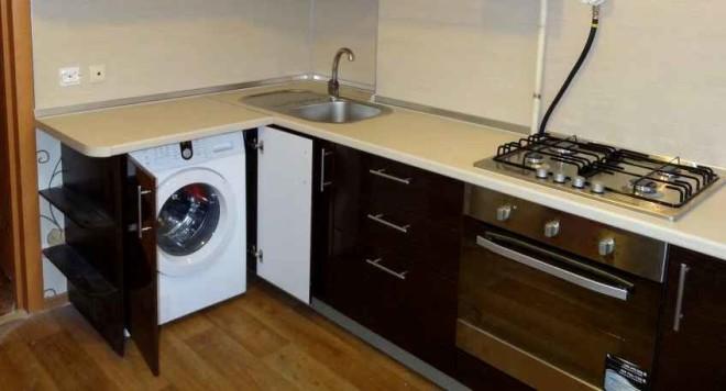 ванная комната маленькая стиральная машина