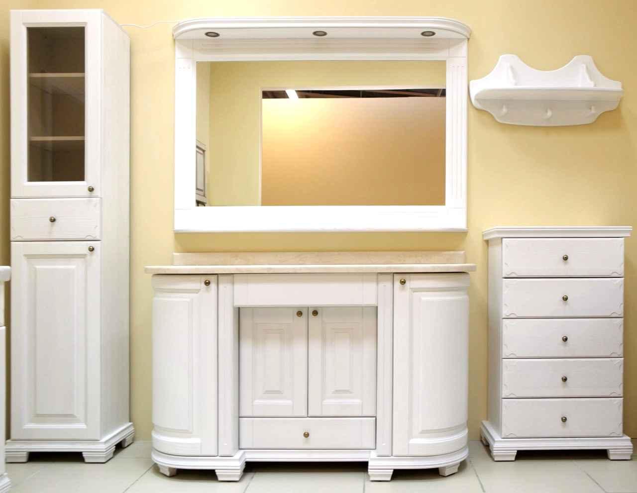 Как правильно расставить мебель в ванной комнате