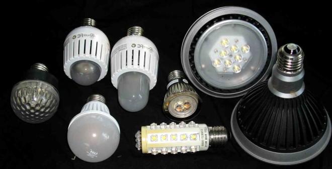 Недостатки светодиодных ламп