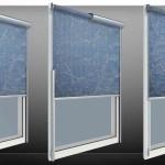 Рулонные тканевые шторы: элегантная практичность