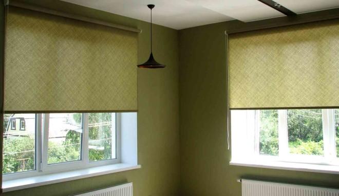 Рулонные шторы с пружинным механизмом