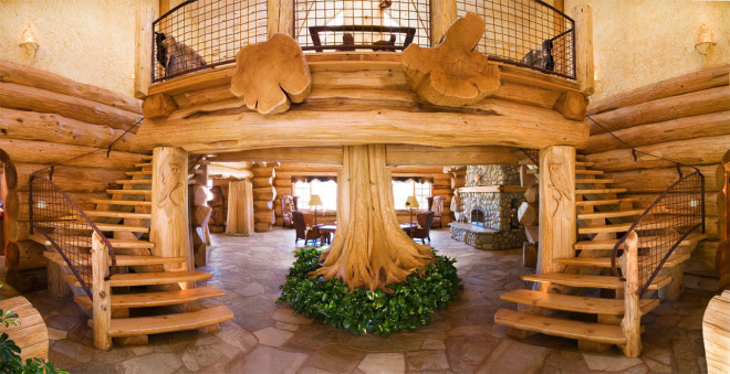 Дизайн загородного деревянного дома