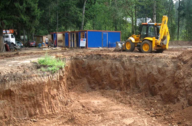 Обустройство строительной площадки