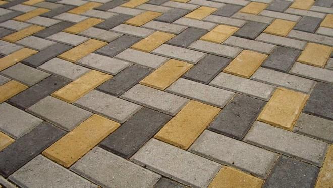 Тротуарная плитка - виды и достоинства