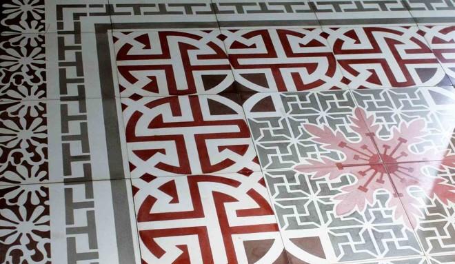 Цементная плитка ручной работы