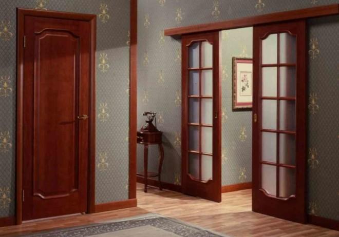 Раздвижные двери или двери-купе