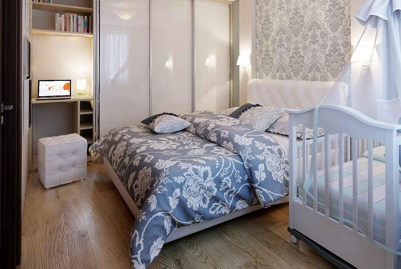 Способ совместить спальню с детской