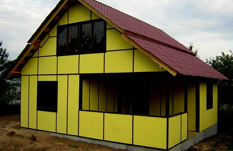 Как построить быстровозводимый дом