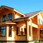 Как разработать проект дома из клееного бруса