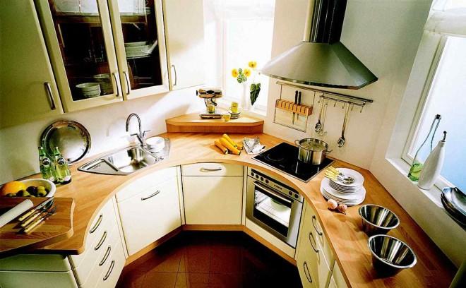 варианты дизайна для небольшой кухни
