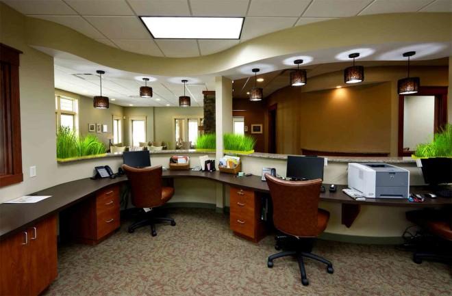 Планировка офисного помещения