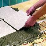 Укладка керамической напольной плитки своими руками