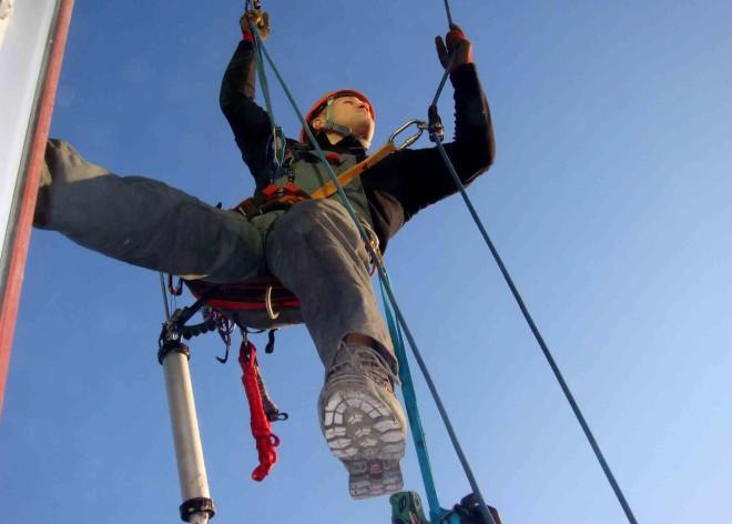 Промышленная работа подсобником у альпинистов в спб мастерская