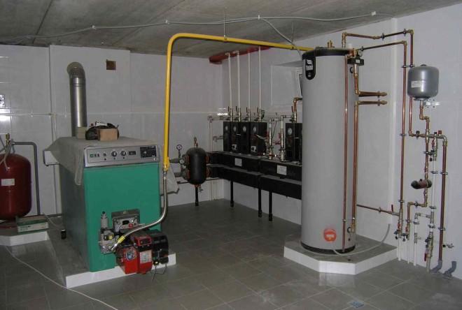 Подготовка помещения под котельную