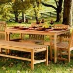 Варианты садовой мебели