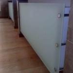 Электрические дизайн-радиаторы со стеклянной панелью