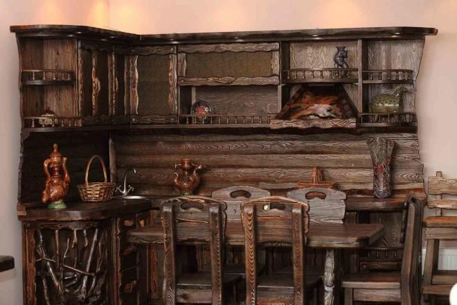 Состаренная мебель для дома - фотографии