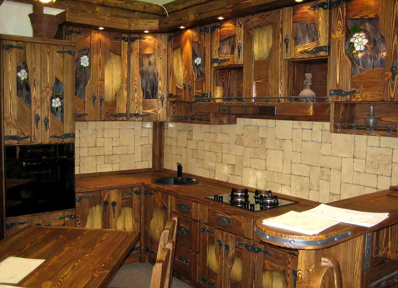 Кухонная мебель своими руками под старину