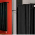 Трубчатые дизайн-радиаторы из чёрной стали