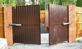 Как самому сделать уличные ворота