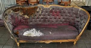 Обтяжка дивана своими руками