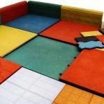 Резиновая плитка: характеристики, достоинства и недостатки
