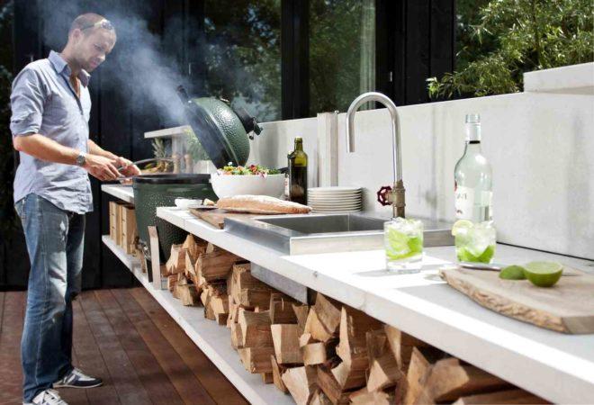 Кухня на открытом воздухе