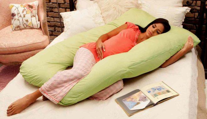 Подушка для беременных: комфортно и стильно